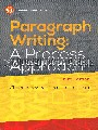 Paragraph writing : a process approach